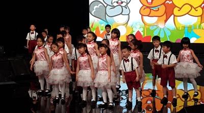 河海小小合唱团录节目了